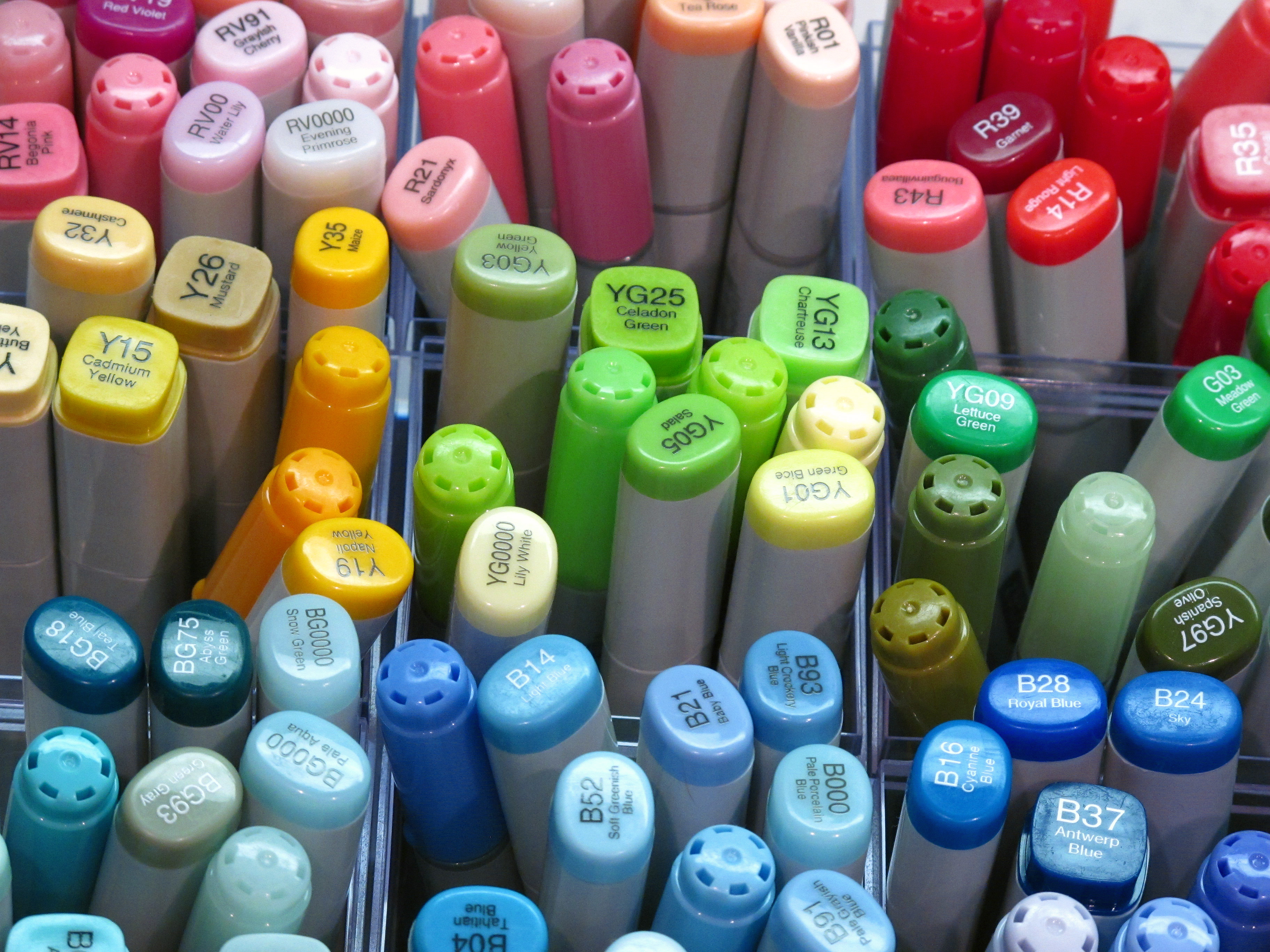 Since you asked...What are Copics?! - A Blog Called Wanda