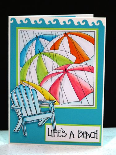 Summer umbrella 002