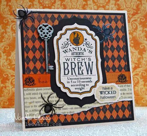 Wanda's brew card
