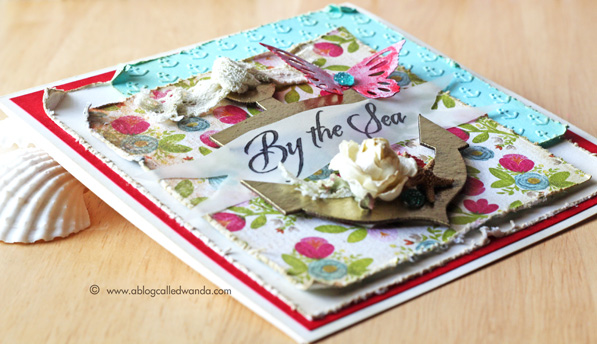 Simon Says Stamp Wednesday Challenge card by Wanda Guess