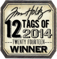 Tim holtz badge