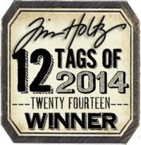 Tim holtz badge