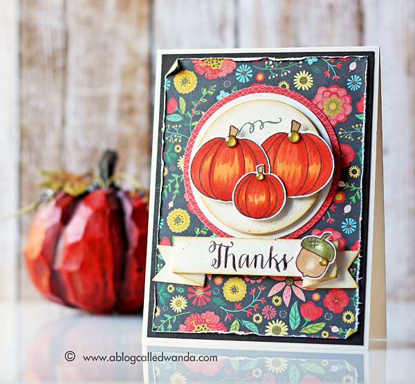 Simon Says Stamp color recipe card by Wanda Guess