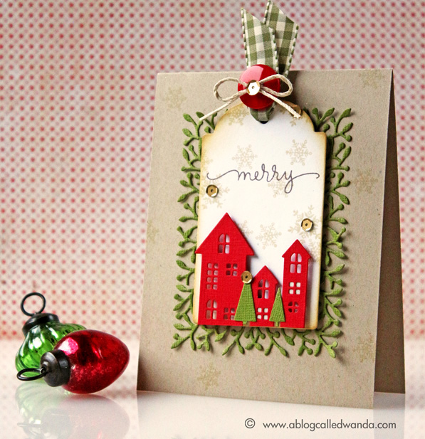 1 Simon Says Stamp Die-Cember Blog Hop card by Wanda Guess