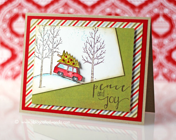 Sweet Sunday Sketch #249 - Card by Wanda Guess - stamps from Stampin' Up