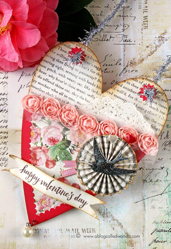 Brenda Walton Pocket Heart die. Made by Wanda Guess