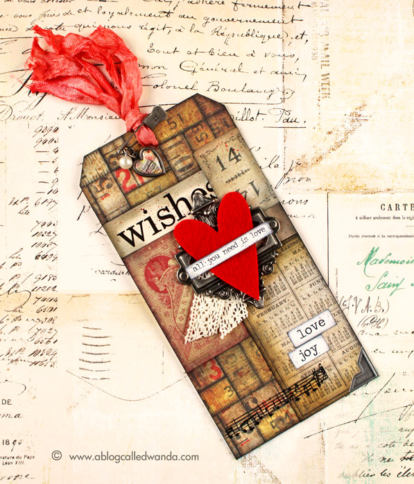 12 tags of 2015 - February tag by Wanda Guess