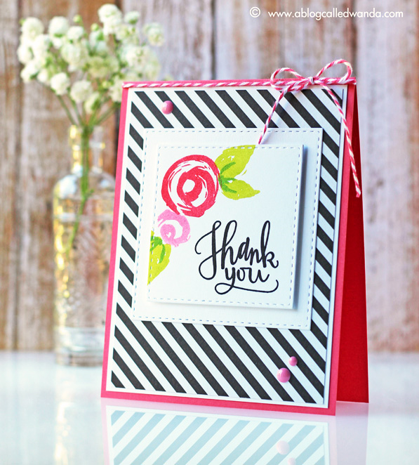 Simon Says Stamp exclusives - card by Wanda Guess