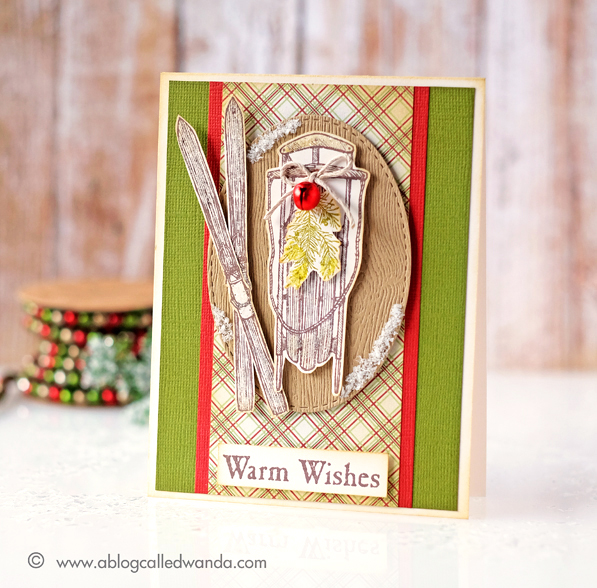 Stampin' Up Warm Wishes stamp set. Card by Wanda Guess