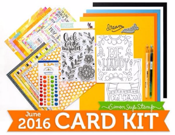 Simon Says Stamp June 2016 Card Kit