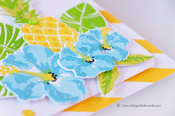 Papertrey Ink Tropics stamp set