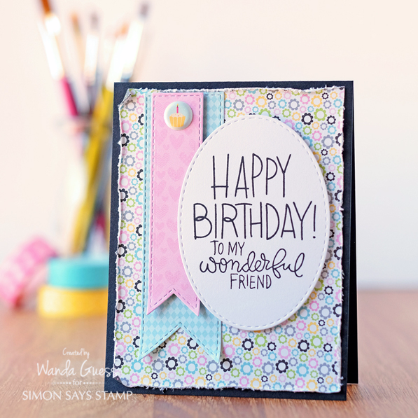 SIMON SAYS STAMP SEPTEMBER 2016 CARD KIT! Card by Wanda Guess