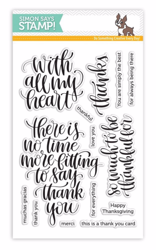Simon Says Stamp Thankful Heart Stamp Set
