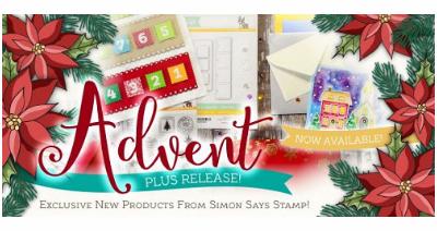 Simon Says Stamp Advent Plus Mini Release Holiday 2016
