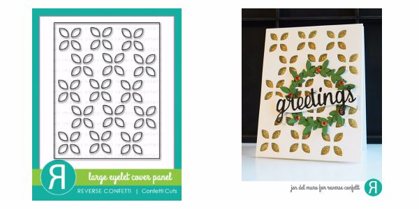 Reverse Confetti Eyelet Cover Panel Die