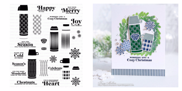 Papertrey Ink Cozy Christmas