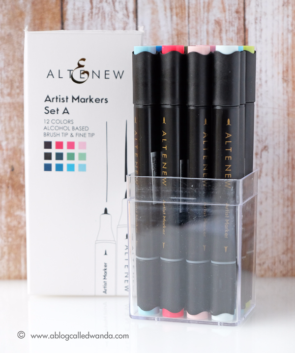 Altenew Markers. Artist Markers Set A. Brand new
