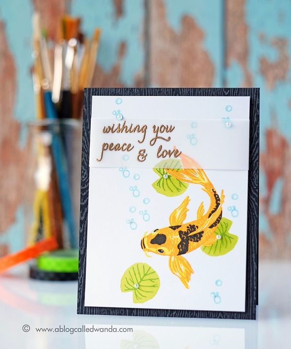 Hero Arts 2017 Catalog Blog Hop. Card by Wanda Guess