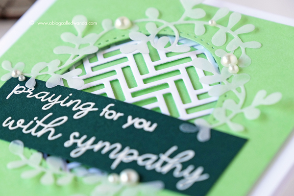 Papertrey Ink Sympathy Card