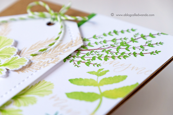 PAPERTREY INK HERB GARDEN MINI KIT. JUNE 2017 RELEASE. CARD BY WANDA GUESS