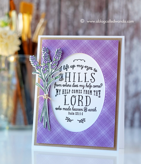 Papertrey Ink Year Of Psalms stamp set July