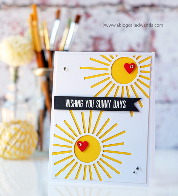 PAPERTREY INK RADIANT DIE COLLECTION AND HEY STACKS STAMPS