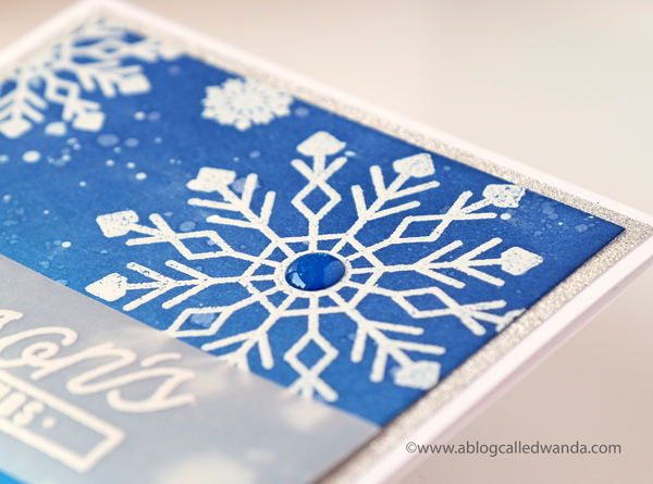 PAPERTREY INK SNOWFLAKES STAMPS AND DIES
