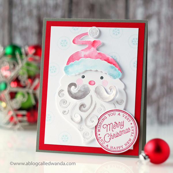 Hero Arts Card Kit - My Monthly Hero christmas