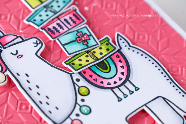 Carta Bella Fair Isle Embossing Folder