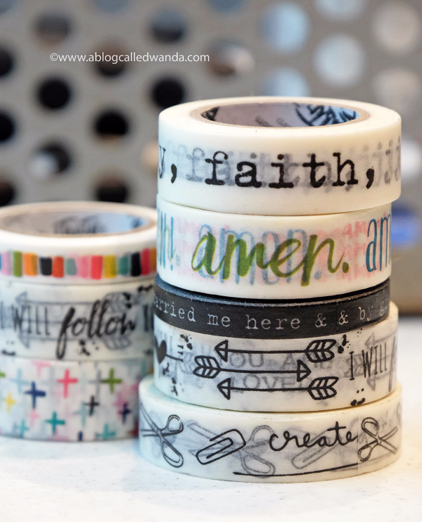 Illustrated Faith Washi Tape