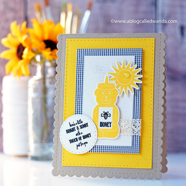 Papertrey Ink Sunshine and Honey Stamp set