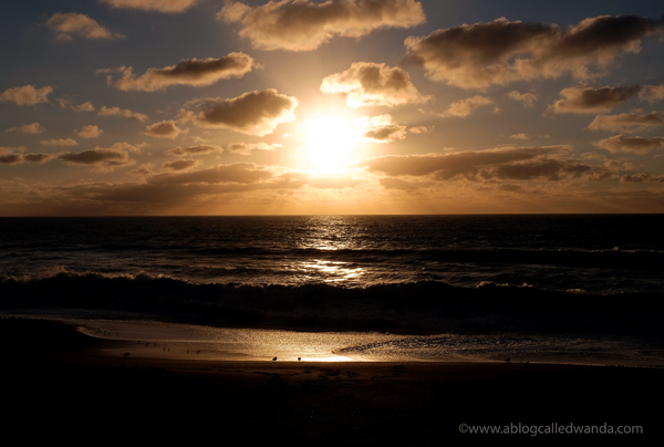 California sunset - Pacifica