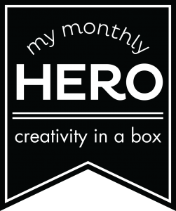 Hero Arts My Monthly Hero Card Kit