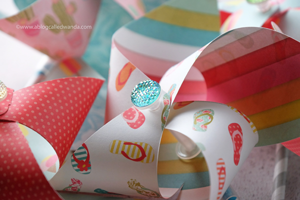 Photoplay paper Summer. Pinwheels