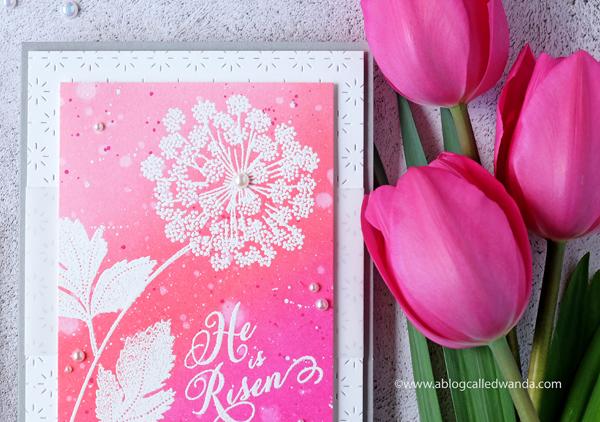 pretty in pink easter card a blog called wanda