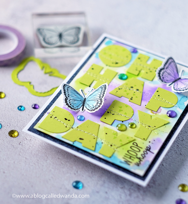 Fun Stampers Journey Rainbow Drops