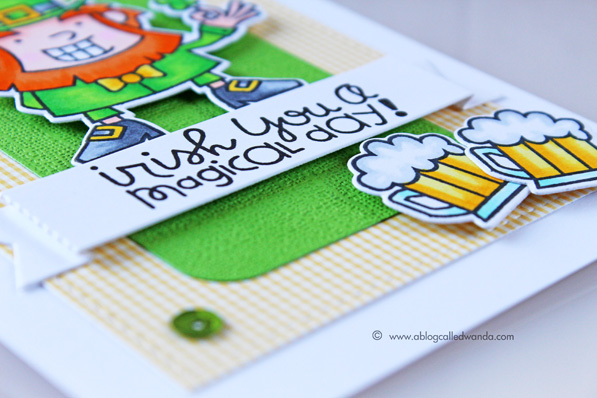 St,. Patrick's Day card by Wanda Guess