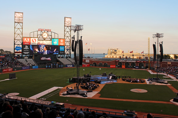 ATT Park. Night of Hope - Joel Osteen
