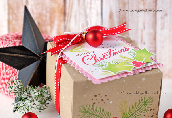 Papertrey Ink Customer Blog Hop. Project by Wanda Guess. Christmas Cheer!