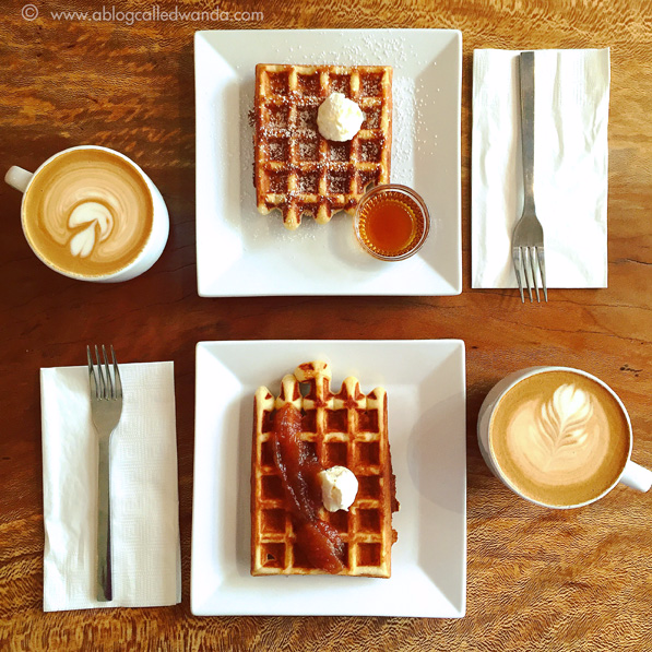 The Mill Sacramento coffee and waffles