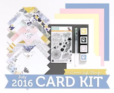 July 2016 card kit SSS