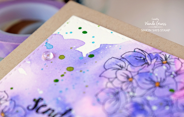 1 watercolor hydrangeas