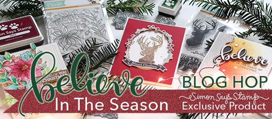 Simon Says Stamp Believe in the Season Blog Hop! Wanda Guess blog