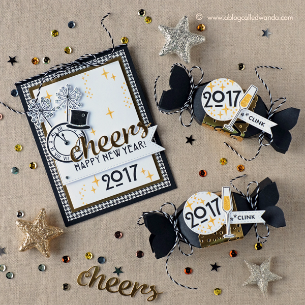 Hero Arts My Monthly Hero Kit. December 2016 Blog Hop. Project by Wanda Guess