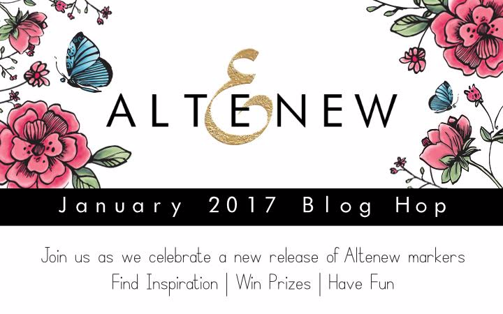 Altenew Artist Markers - new release blog hop
