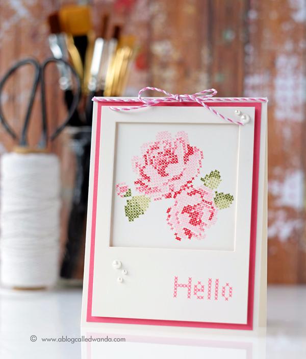 Waffle Flower Stitched Roses에 대한 이미지 검색결과