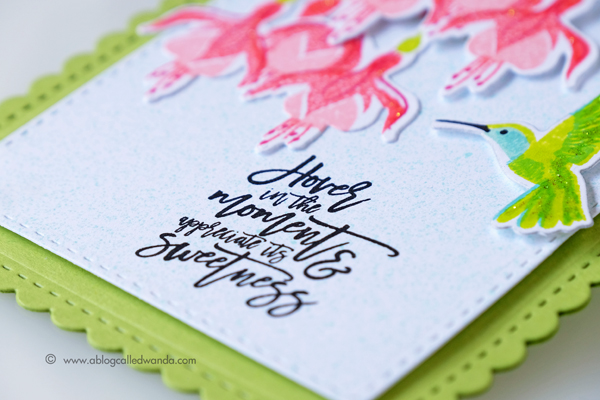 PAPERTREY INK HUMMING ALONG STAMP SET. JUNE RELEASE. PROJECT BY WANDA GUESS