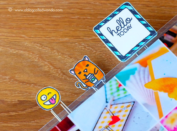 Planner clips - planner stamping
