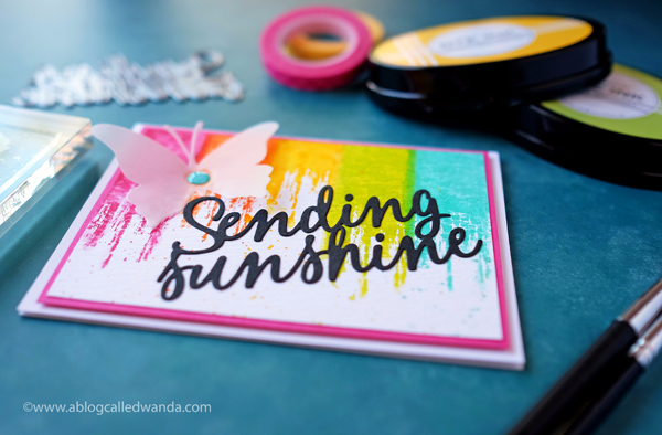 PAPERTREY INK SENDING SUNSHINE CARD