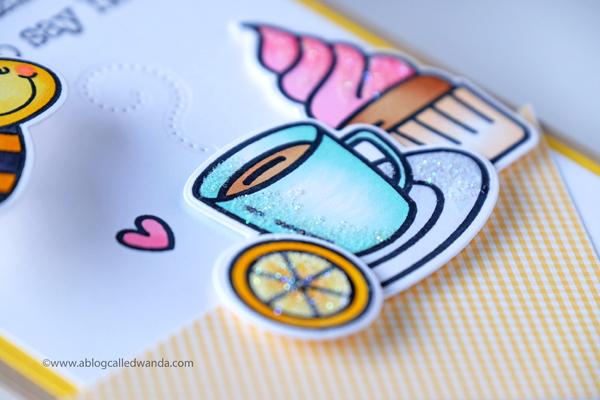 Honey Bee Stamps Tea Time
